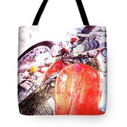 Hot Red Tote Bag