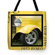 Hot Rod 10 Tote Bag