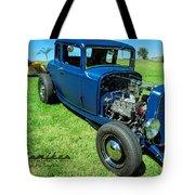 Hot Rod Blues Tote Bag