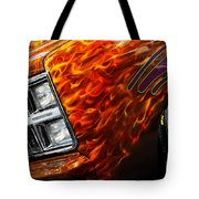 Hot Rod Chevrolet Scotsdale 1978 Tote Bag