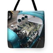Hot Rod Engine Detail Tote Bag