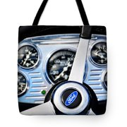 Hot Rod Ford Steering Wheel Tote Bag