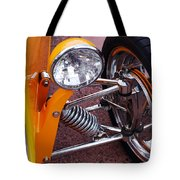 Hot Rod Headlight Tote Bag