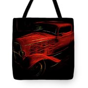 Hot Rod Red Tote Bag