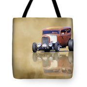 Hot Rod Reflection Tote Bag