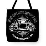 Hot Rod Shop Shirt Tote Bag