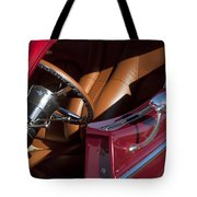 Hot Rod Steering Wheel Tote Bag