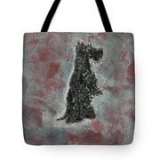 Hot Scottie Tote Bag