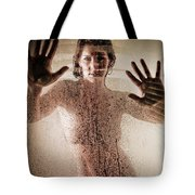 Hot Shower Tote Bag