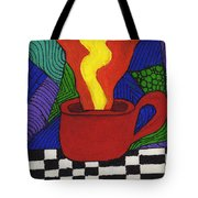 Hot Spot Of T Tote Bag
