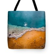 Hot Spring Detail Tote Bag