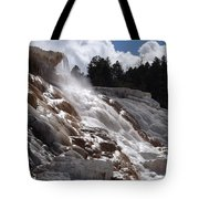 Hot Spring Fountain Tote Bag