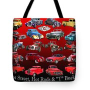 Car Show And Shine Poster Tote Bag