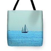 Hot Summer Day In New England Tote Bag