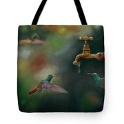Hot Summer Days Tote Bag