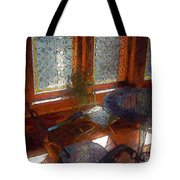 Hot Sun On Wrought Iron Tote Bag