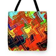 Hot Tile Reflection Tote Bag