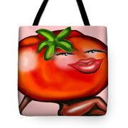 Hot Tomato Tote Bag