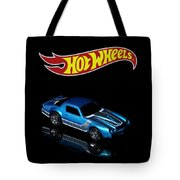 Hot Wheels 67 Pontiac Firebird 400-3 Tote Bag by James Sage