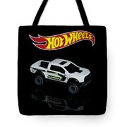 Hot Wheels Ford F-150 Raptor Tote Bag by James Sage