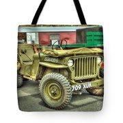 Hotchkiss Jeep Tote Bag