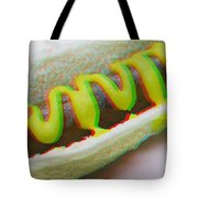 Hotdog - Use Red-cyan 3d Glasses Tote Bag