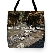 Hotel Booking System In Manali Tote Bag