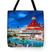 Hotel Coronado Tote Bag