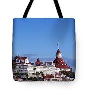 Hotel Del Coronado Tote Bag