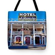 Hotel El Rancho Tote Bag