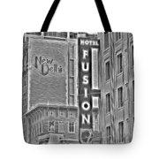 Hotel Fusion Tote Bag