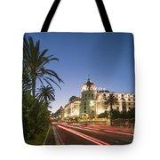 Hotel Negresco Nice  Tote Bag