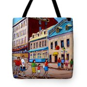 Hotel Nelson Old Montreal Tote Bag