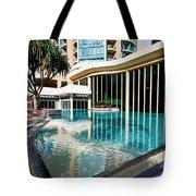 Hotel Swimming Pool Tote Bag