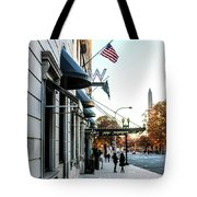 Hotel Washington Tote Bag