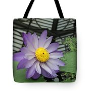 Hothouse Waterlily Tote Bag