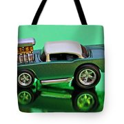 hotwheels blown 57 Chevy Tote Bag
