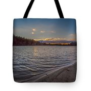 Houghton's Pond Sunset Tote Bag