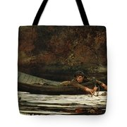 Hound And Hunter Tote Bag