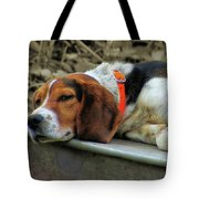 Hound Dog Tote Bag