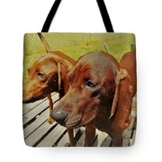 Hounds Tote Bag
