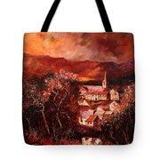 Hour Village 67 Tote Bag