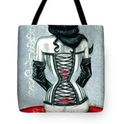 Hourglass Figure Tote Bag