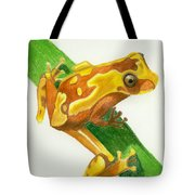 Hourglass Frog Tote Bag