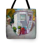 Hous In Crimea Tote Bag