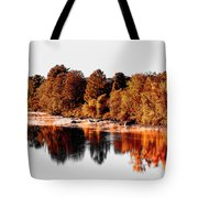 Housatonic River Mist Tote Bag