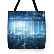 House 3d Project Tote Bag