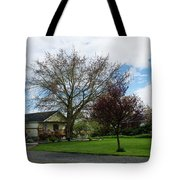 House At The City Limits Tote Bag