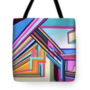 House By The Bay Tote Bag