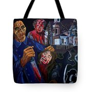 House By The Cemetery Tote Bag